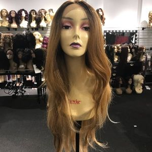 Accessories - Wig blonde ombré layers Human hair Blende 2019 Wig